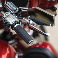 Hex Grips  Electronic Throttle  Chrome 5922