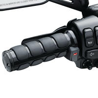 Heated ISO®-Grips for Electronic Throttle, Gloss Black(6472)