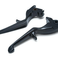 TRIGGER LEVERS 1844 '14-'16 Touring  Gloss Black