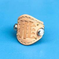★新作★ Leather Ring (オシ)