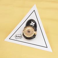 ★新作★ Leather Ring (ブラックバイパー)