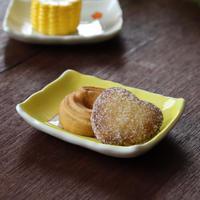 黄帯小梅 長角小皿