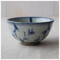 MINO藍唐草 ご飯茶碗(小)