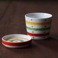 サークルクロス そばちょこカップ&薬味皿セット
