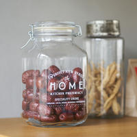 HOME KITCHEN PHARMACY ステッカー(クリア)