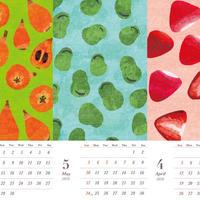 オビカカズミ 4月はじまりカレンダー 2020年4月〜2021年3月