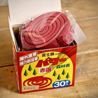 モチヅキ パワー森林香(赤色) 30巻入り 防虫業務用