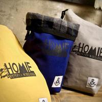 HOMIE × and handwork チョークバッグ