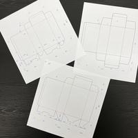 箱のCAD図面作成