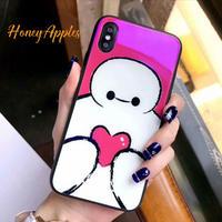 ベイマックス iPhoneケース Disney Glass Case