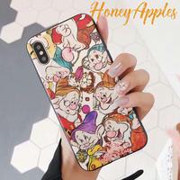 7人の小人 Disney iPhoneケース TPU  [ 新機種対応 ]