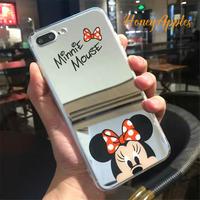 Minnie ミラーケース iPhoneケース ソフトケース [ 新機種対応 ]