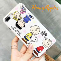 SNOOPY iPhoneケース White [ MY BEST FRIEND ] TPU