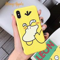 コダック あっかんべー iPhoneケース TPU Yellow ※新機種対応