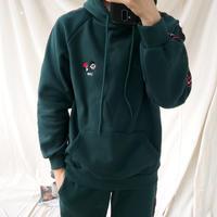 韓国メンズファッション★LEON 裏起毛スウェット 5色