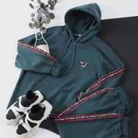 韓国メンズファッション★LEON 裏起毛スウェットパンツ 5色
