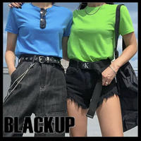 BLACKUP★カラーTシャッツ