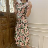 vintage flower party dress