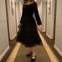 classical tulle dress