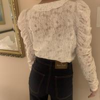 unique sleeve lace tops