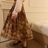 rose antique skirt