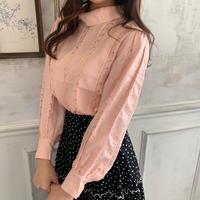 pink rose blouse