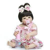 NPK【ドール本体】ベイビードール 56cm シリコン 新生児 ビクトリア王女 ブラウンアイ