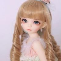 【BJD 1/6カスタムドール】アンテ お洋服&ウィッグフルセット