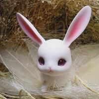 【ドール本体】1/12 カスタムドール 12cm hehebjd ウサギのルビー 本体