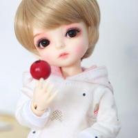 【BJD 1/6カスタムドール】バニラ お洋服&ウィッグフルセット