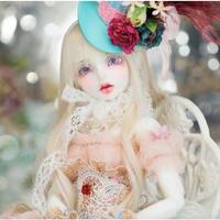 【BJD 1/4カスタムドール】ルーシーウェン ヒューマン お洋服&ウィッグフルセット