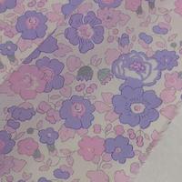 ◆輸入 リバティ LIBERTY タナローン Betsy Metallic Lavender Pink ベッツィ メタリック ラベンダーピンク 約135×50cm