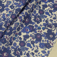 ◆輸入 リバティ LIBERTY タナローン Betsy Blue ベッツィ ブルー 約135×50cm