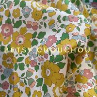 ◆輸入 リバティ LIBERTY タナローン Betsy CHOUCHOU ベッツィ シュシュ 約135×50cm