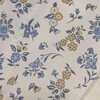◆輸入 リバティ LIBERTY タナローン Edith Rose Blue イーディスローズ 約135×50cm
