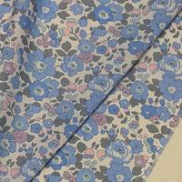 ◆輸入 リバティ LIBERTY タナローン Betsy ベッツィ ブルー 約135×50cm