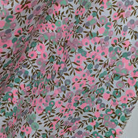 ◆輸入 リバティ LIBERTY タナローン Wiltshire SNP - Seafoam Neon Pink ウィルトシャー シーフォームネオンピンク 約130×50cm