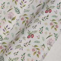 ◆輸入 リバティ LIBERTY タナローン Berry Garden ベリーガーデン 約135×50cm