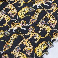 説明欄確認要◆輸入 リバティ LIBERTY タナローン Heads and Tails C Black&Yellow ヘッズアンドテールズ C ブラック&イエロー 約130×50cm