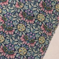 ◆輸入 リバティ LIBERTY タナローン Persephone ペルセフォネ グリーンピンク 約135×50cm