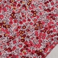 カットクロス💎輸入 リバティ LIBERTY タナローン Wiltshire Ruby ★ ウィルトシャー ルビー 約65×50cm