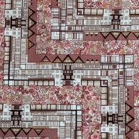 ◆輸入 リバティ LIBERTY タナローン Tudor Belle Brown チューダーベル ブラウン 約135×50cm