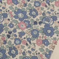 ◆輸入 リバティ LIBERTY タナローン Betsy BLUE ROSE QUARTZ★ ベッツィ ブルーローズクォーツ 約135×50cm