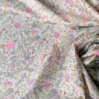 ◆輸入 リバティ LIBERTY タナローン Field Flowers Neon X フィールドフラワーズ X ネオンピンク 約130×50cm