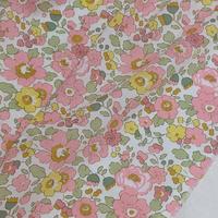 ★輸入 リバティ LIBERTY オーガニックタナローン Betsy B ベッツィ B ピンク 約135×50cm