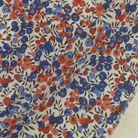 ◆輸入 リバティ LIBERTY タナローン Wiltshire Marianne ウィルトシャー レッド/ブルー 約135×50cm