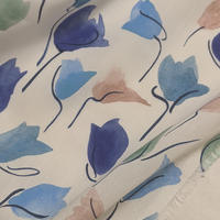 ◆輸入 リバティ LIBERTY タナローン Tulip Shadow Blue チューリップシャドウ ブルー 約135×50cm