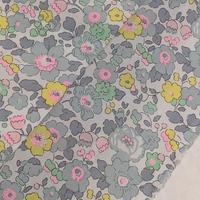 ◆輸入 リバティ LIBERTY タナローン Betsy ベッツィ グレーネオンピンク 約135×50cm