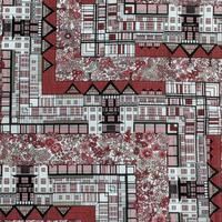 ◆輸入 リバティ LIBERTY タナローン Tudor Belle Red チューダーベル レッド 約130×50cm