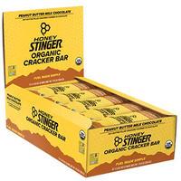 SB-02b:オーガニックスナックバー:ピーナッツバター&ミルクチョコレート(15本入)